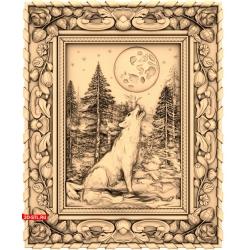 Волк на луну воет