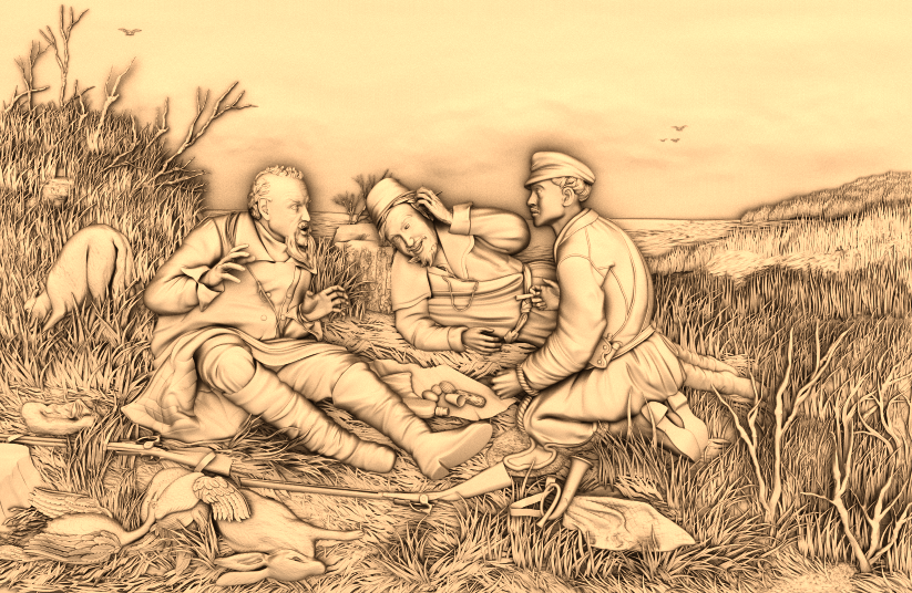 Легкий рисунок тимон и пумба пляшкевич